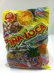 Alteno Super Rico Pina Loca paleta (Pineappl lollipop with chilli)
