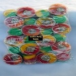 Vasito Agridulce con saladito (Sour cup with plum center) 24pcs bag
